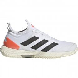 Chaussure Femme Adidas Adizero Ubersonic 4.0 Blanc/Orange