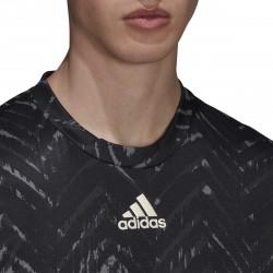 Promo Tee Shirt Adidas Freelift Primeblue Noir