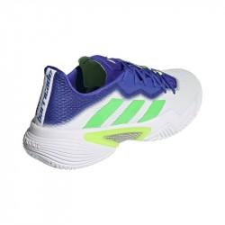 Promo Chaussure Adidas Barricade Blanc/Violet