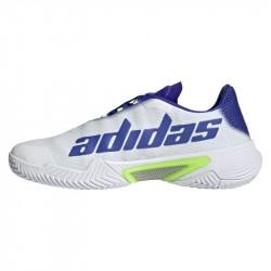 Achat Chaussure Adidas Barricade Blanc/Violet