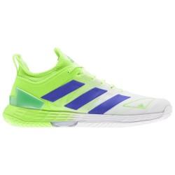 Chaussure Adidas Adizero Ubersonic 4.0 Blanc/Vert