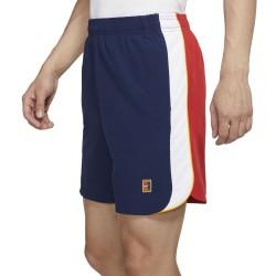 Short NikeCourt Dri-FIT Slam Bleu/Blanc/Rouge
