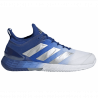 Chaussure Adidas Adizero Ubersonic 4.0 Bleu/Blanc