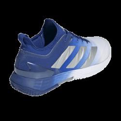 Promo Chaussure Adidas Adizero Ubersonic 4.0 Bleu/Blanc