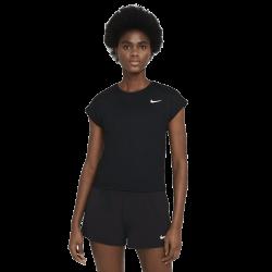 Tee Shirt Femme NikeCourt Dri-FIT Victory Noir